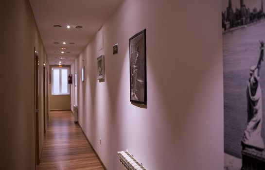 Interior view Hostal Art Madrid