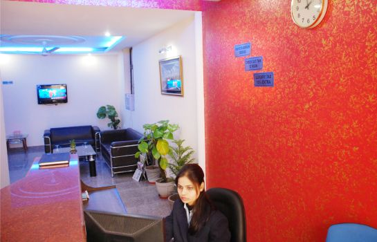 Reception Mayank Residency Airport Hotel