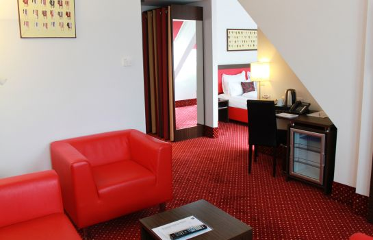 Junior Suite Best Western Plus Amedia Wien