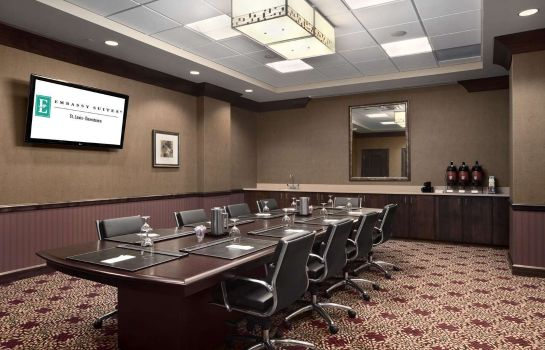 Conference room Embassy Suites by Hilton St Louis Downtown