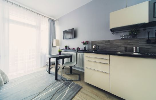 Chambre double (standard) 4Seasons Apartments Cracow