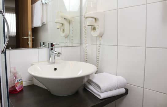 Bagno in camera City Hotel-Journal