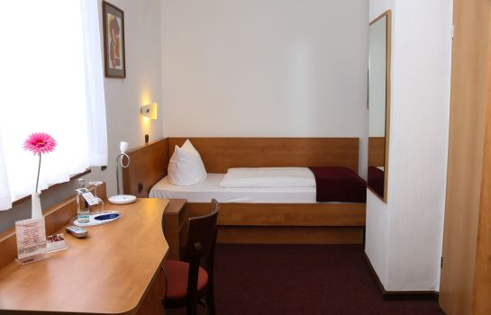 Chambre individuelle (standard) City Hotel-Journal
