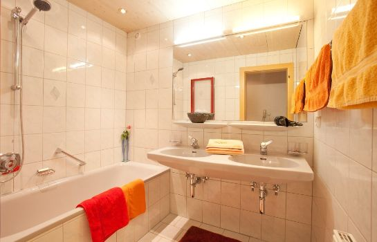 Badezimmer Top Tirol Appartement