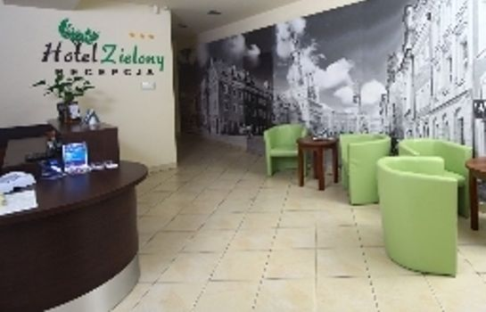 Reception Zielony