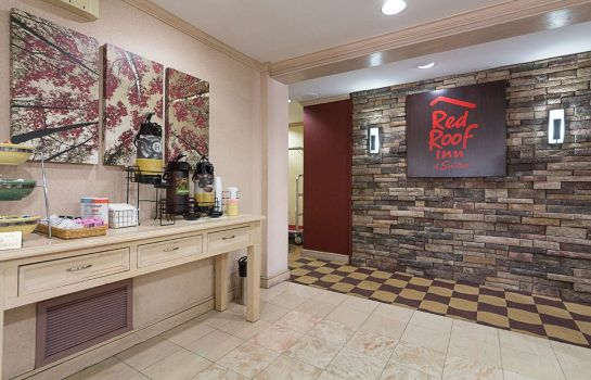Hol hotelowy Red Roof Suites Dallas - Addison