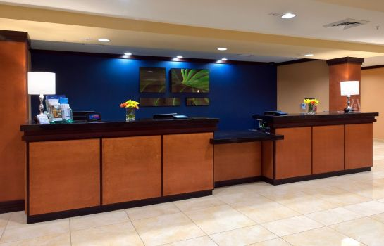 Hotelhalle Fairfield Inn & Suites Tallahassee Central