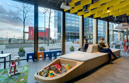 Vista all'interno MEININGER Amsterdam City West