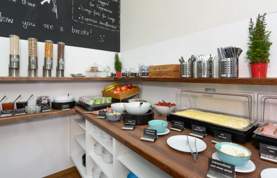 Breakfast buffet B&B Graz