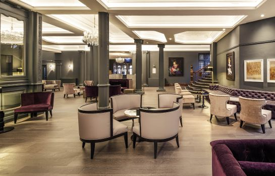 Bar del hotel Mercure Leicester The Grand Hotel