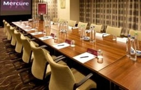 Meeting room Mercure Manchester Piccadilly Hotel