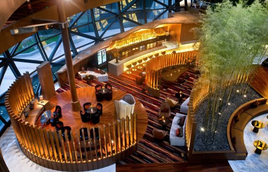 Hotel bar Crowne Plaza SHANGHAI HARBOUR CITY