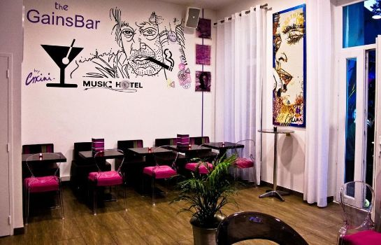 Bar de l'hôtel Music Hotel