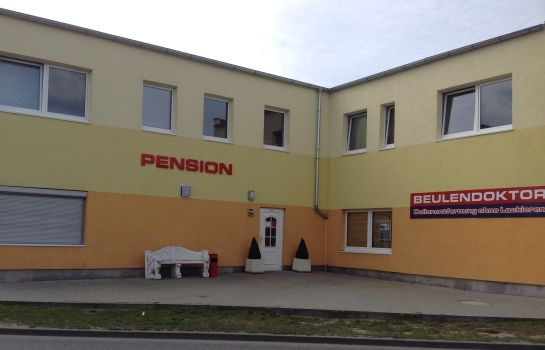 Vista exterior Pension an der Werft