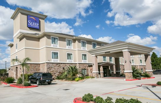 Außenansicht Sleep Inn & Suites Houston I - 45 North