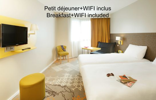 Driepersoonskamer ibis Styles Tours Centre