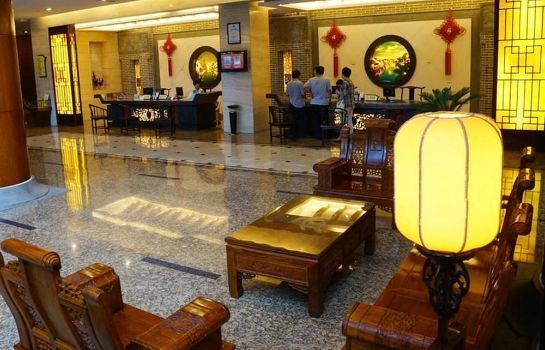 Lobby Gold River Side Hotel - Wuzhen