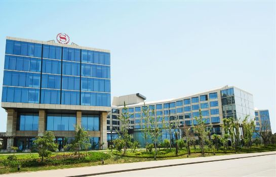 Außenansicht Sheraton Yantai Golden Beach Resort