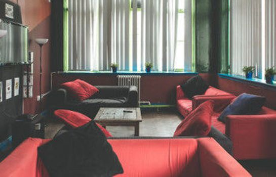 Interior view Hatters Hostel Manchester