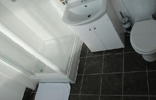 Bagno in camera Hatters Hostel Liverpool
