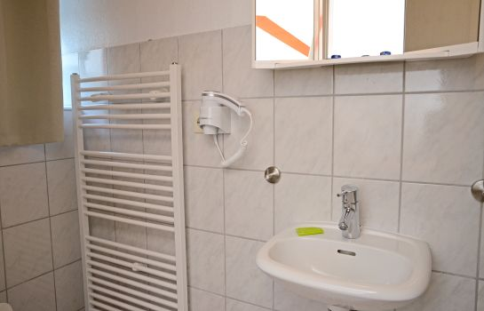 Badezimmer Pension Neptuns Ankerplatz