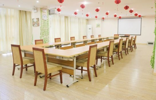 salle de réunion Green Tree Inn Jinghu High-speed Rail North Station Domestic only