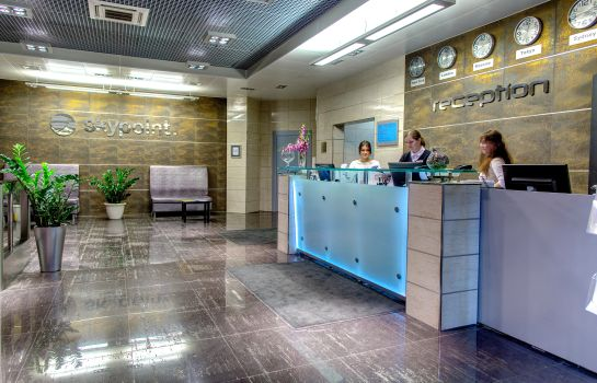 Empfang SkyPoint Hotel Sheremetyevo airport