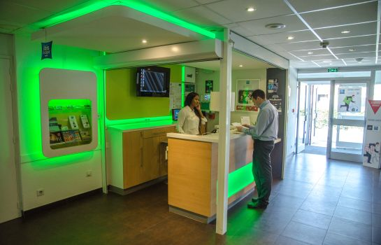Reception ibis budget Aeroport le Bourget Garonor