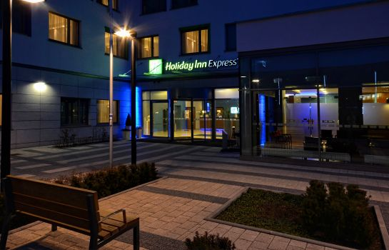 Außenansicht Holiday Inn Express WARSAW AIRPORT