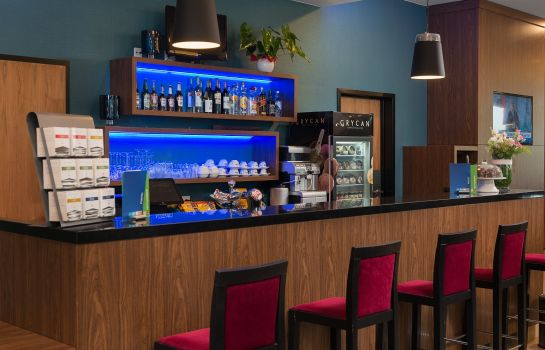 Bar del hotel Holiday Inn Express WARSAW AIRPORT