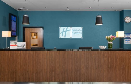 Vestíbulo del hotel Holiday Inn Express WARSAW AIRPORT