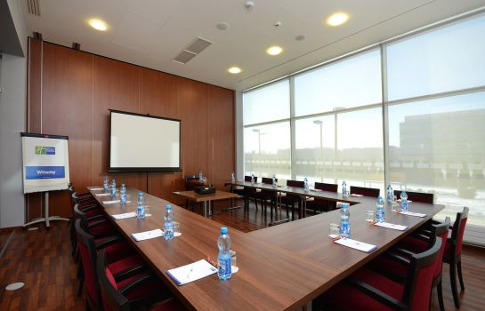 Sala de reuniones Holiday Inn Express WARSAW AIRPORT