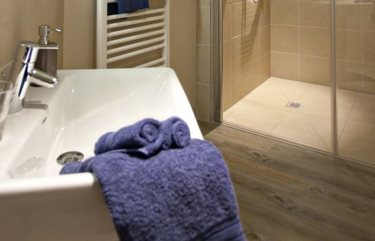 Bagno in camera Landhotel Fischerwiege