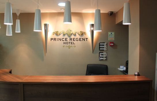 Reception Prince Regent Hotel Excel London