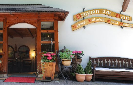 Buitenaanzicht Wellness am Rain Pension Garni