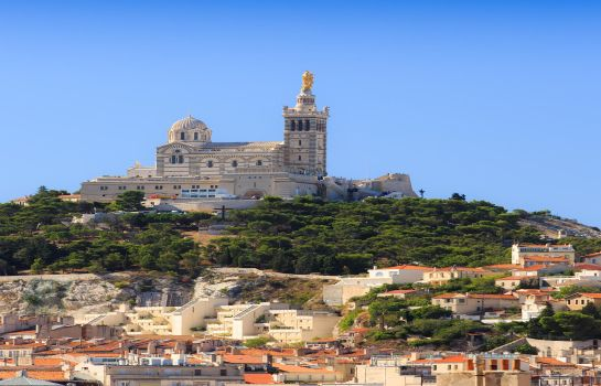 Umgebung BEST WESTERN Hotel Marseille Bourse Vieux port by HappyCulture