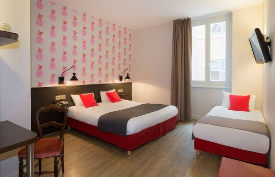 Zimmer BEST WESTERN Hotel Marseille Bourse Vieux port by HappyCulture