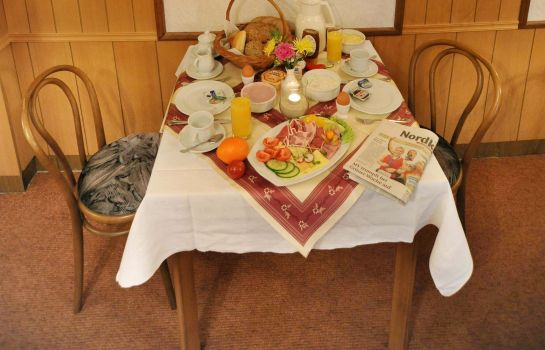 Buffet prima colazione Am Stettiner Haff Pension