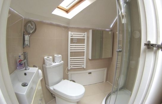 Bagno in camera London Stay Apartments