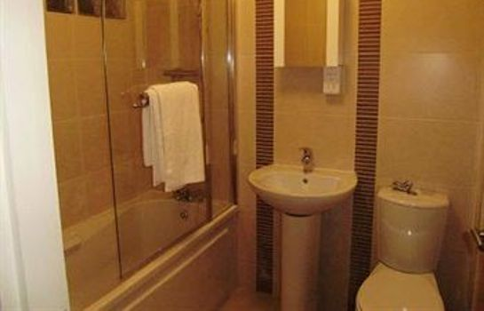 Bagno in camera Brookhill Serviced Apartments