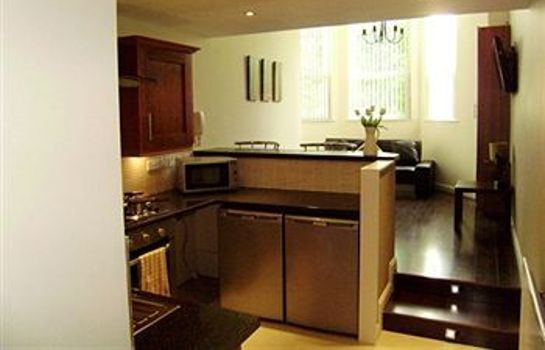 Cucina in camera Brookhill Serviced Apartments