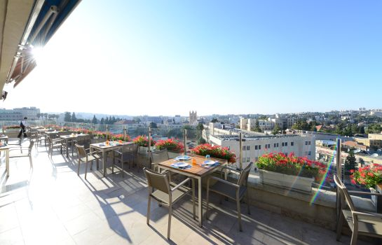 Terrace St George Hotel Jerusalem