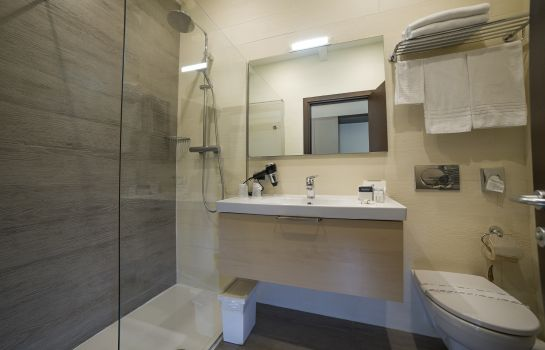 Bagno in camera Best Western Plus Modena Resort