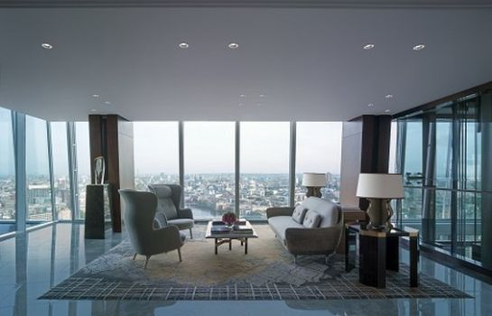 Vestíbulo del hotel Shangri-La at The Shard London