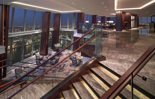 Vista all'interno Shangri-La at The Shard London