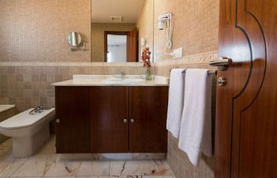 Bagno in camera Hotel Mirador de Lobos Golf