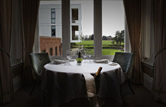 Restauracja Wivenhoe House Hotel