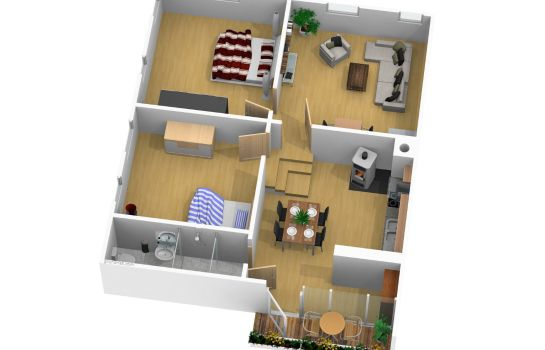 Info Apartment Werlen