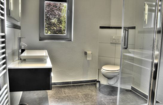 Bagno in camera Pension Glückstadt