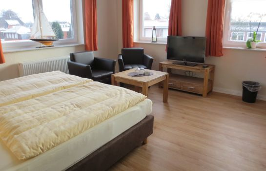 Chambre double (confort) Pension Glückstadt